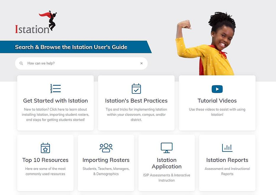 Istation Users Guide 1