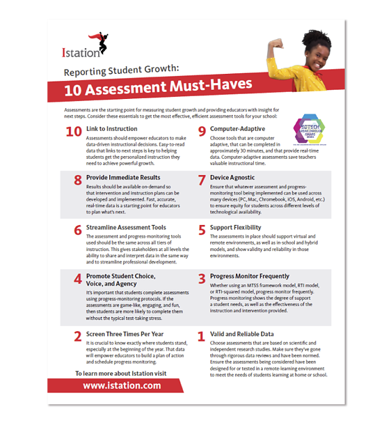 Top 10 Assessment Must Haves