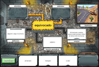 Equivocado_Vocabulary Game