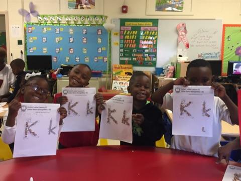 Garrison Letter Kk group art
