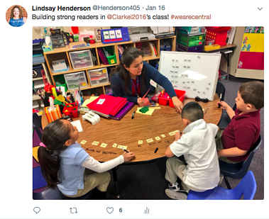 Small Group Literacy Central ES  - Lindsay Henderson