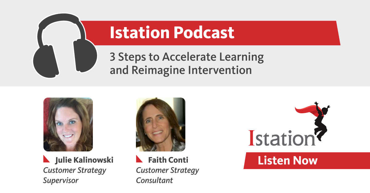 Photo of Podcast: 3 Steps to Accelerate Learning and Reimagine Intervention